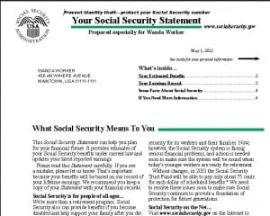 Annual reminder to review your social security statement lifeability it is time to review your social security statement online the statement has important social security information and if applicable estimates of your thecheapjerseys Gallery